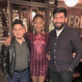 Santos Castro; Rae July; Erick Tello (Hover)